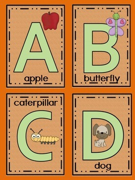 Kindergarten - Alphabet Games