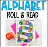 Alphabet Game Boards- Roll and Read
