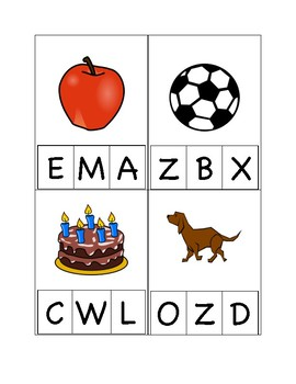 Alphabet Game  Capital Letters