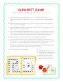 Alphabet Game File Folders