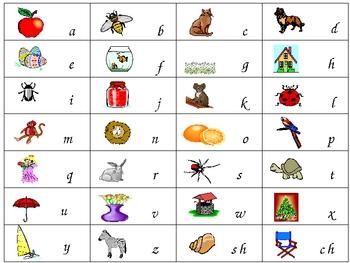 Alphabet Game In MY Garden
