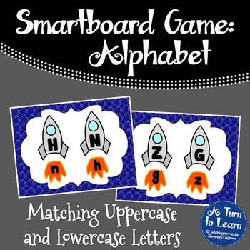 Alphabet Game: Matching Letters (Smartboard/Promethean Board)