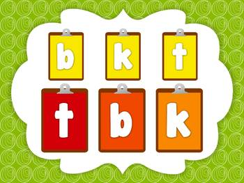Alphabet Game: Matching Lowercase Letters (Smartboard/Promethean Board)