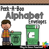 Alphabet Game (Peek-A-Boo Envelopes)