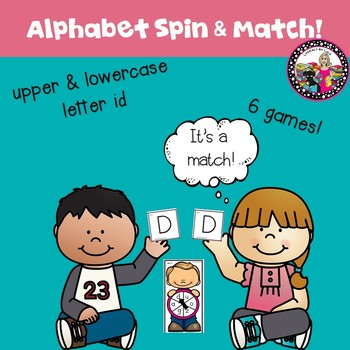 Alphabet Game-Upper and Lowercase Letter Match!