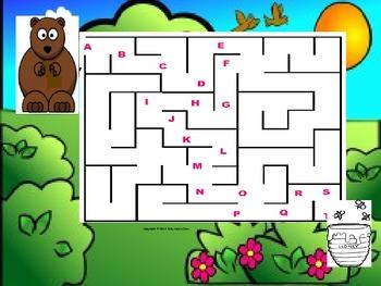 Alphabet Games Activity Set