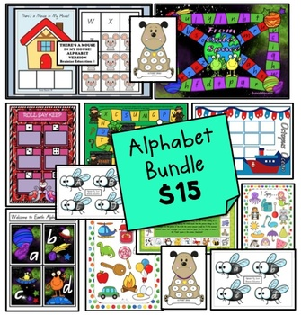 Alphabet Games *BUNDLE* Australian Font