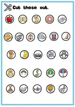 Alphabet Games {Beginning Sounds}