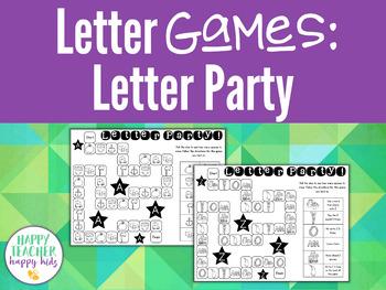 Alphabet Games: Letter Party!