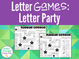 Alphabet Games: Letter Party!