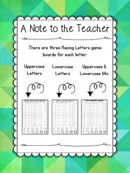 Alphabet Games: Letter Races