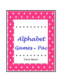 Alphabet Games * Pac For French, German, Italian, Spanish