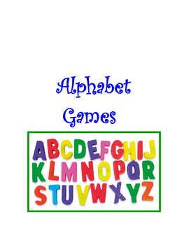 Alphabet Games * Pac For French, German, Italian, Spanish