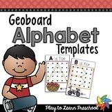 Alphabet Geoboards