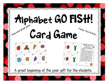 Alphabet Go Fish Card Game