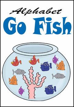 Alphabet Go Fish Game for Preschool & Kindergarten