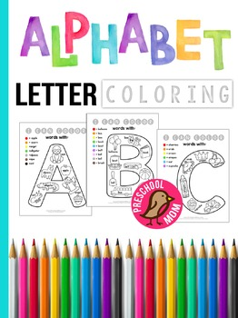 Alphabet Guided Coloring Book