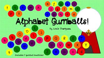 Alphabet Gumballs!