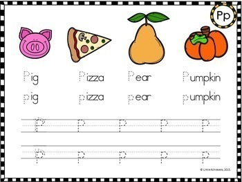 Alphabet Worksheets - Write and Wipe Sheets