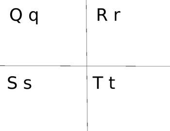Alphabet Handwriting Assessment