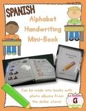 Alphabet Handwriting Book (Spanish)