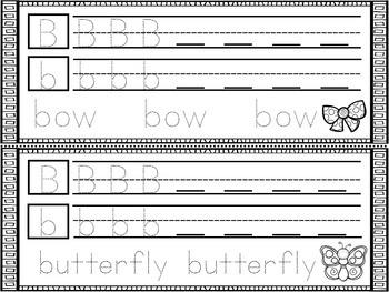 Alphabet Handwriting Booklet