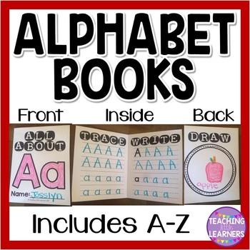 Alphabet Handwriting Books