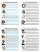 Alphabet Handwriting Bundle