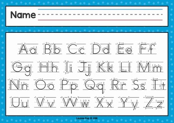 alphabet handwriting cards with directional arrows red and blue. Black Bedroom Furniture Sets. Home Design Ideas