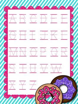 Alphabet Handwriting {Donut Edition}