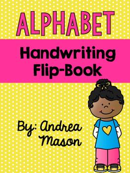Alphabet Handwriting Flip Book