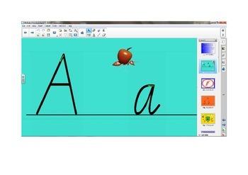 Alphabet Handwriting Lessons A - F