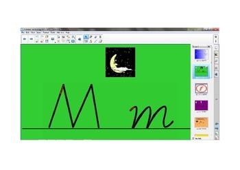 Alphabet Handwriting Lessons M - R