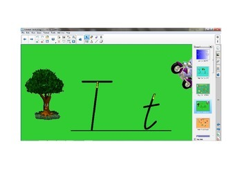 Alphabet Handwriting Lessons S - Z