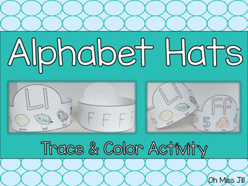 Alphabet Handwriting Letter Hats