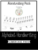 Alphabet Handwriting - Lowercase Pack