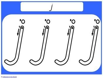 Alphabet Handwriting Mats