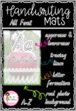 Alphabet Handwriting Mats - All Australian fonts