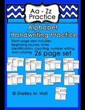 Alphabet Handwriting Packet Plus! Morning Work