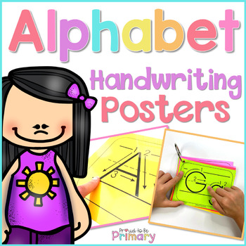 Alphabet Handwriting Posters  | Distance Learning