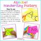 Alphabet Handwriting Posters
