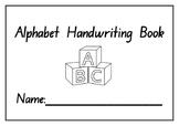 Kindergarten Alphabet Handwriting Practice Booklet - Print