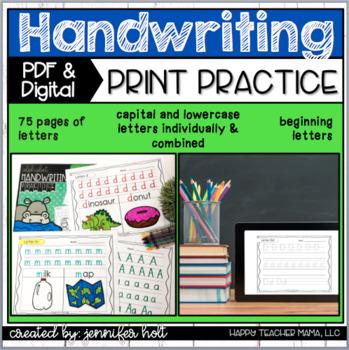 Alphabet Handwriting Practice Bundle