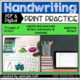 Alphabet Handwriting Practice Bundle