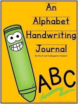 Alphabet Handwriting Practice Journal