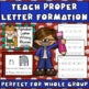 Alphabet Handwriting Practice: Letter Formation Pages with Songs and Rhymes