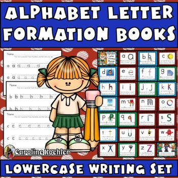 Alphabet Handwriting Practice: Letter Formation Pages with