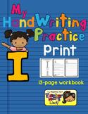 Alphabet Handwriting Practice - Letter Ii (PRINT)