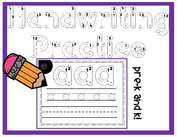 Alphabet Handwriting Practice - Lowercase Only