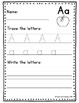 Alphabet Handwriting Practice Packet